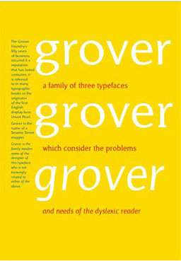 type design - grover